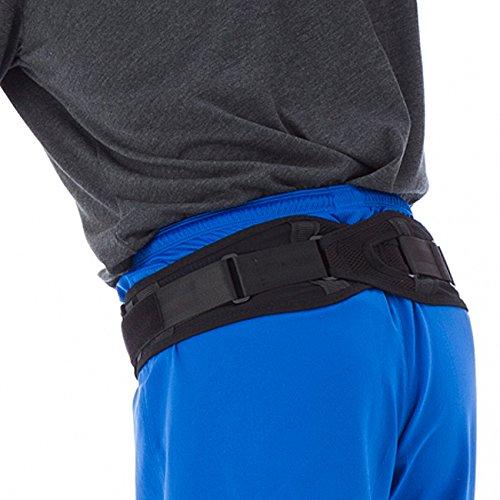 yamasaki 骨盤ベルト スリム 腰 サポーター 骨盤 矯正 腰痛 コルセット ベルト LL(XL) 骨盤周り100-125cm