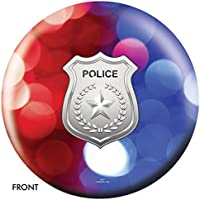 警察部門レッド/ブルーライトボーリングボール