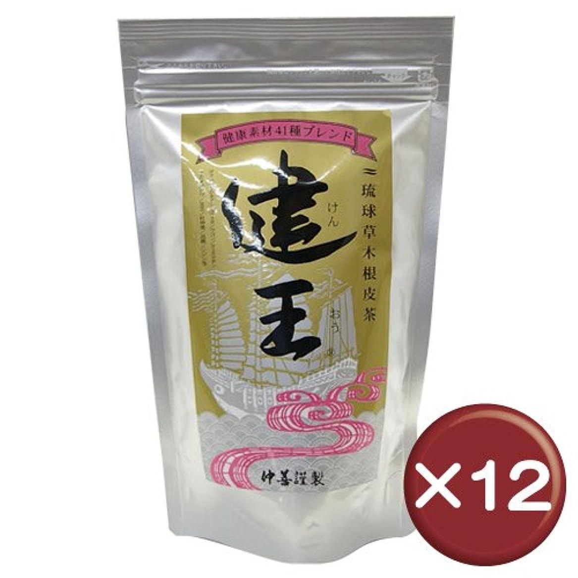 電気段階軽量琉球草木根皮茶 健王 ティーバッグ 2g×30包 12袋セット