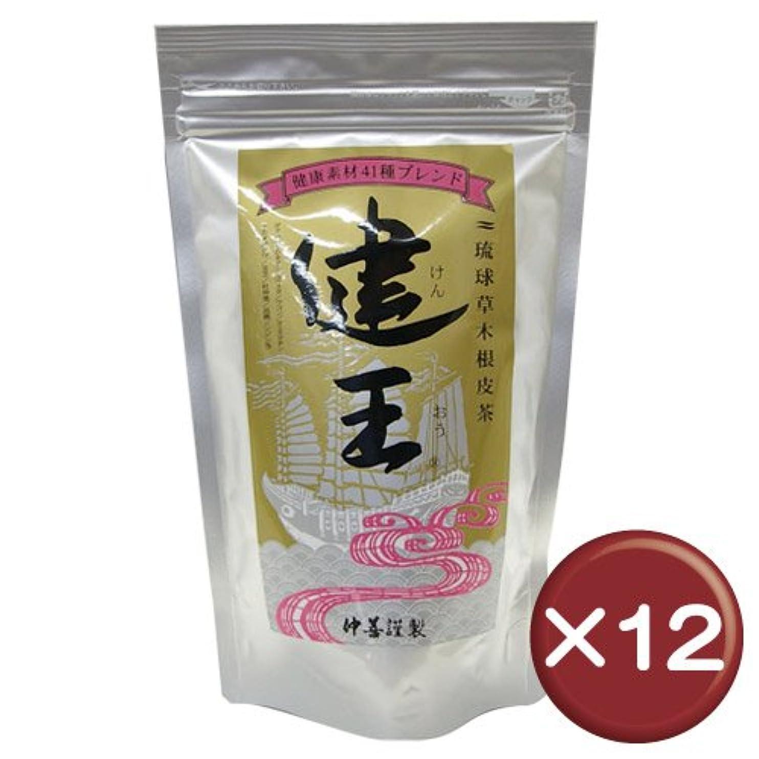 贅沢公園忙しい琉球草木根皮茶 健王 ティーバッグ 2g×30包 12袋セット