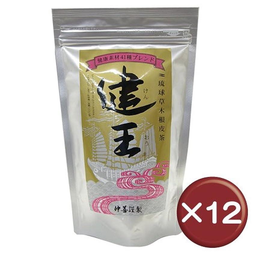 水素ナース国勢調査琉球草木根皮茶 健王 ティーバッグ 2g×30包 12袋セット