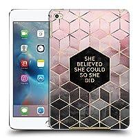 オフィシャルElisabeth Fredriksson Believe 2 タイポグラフィ iPad mini 4 専用ハードバックケース