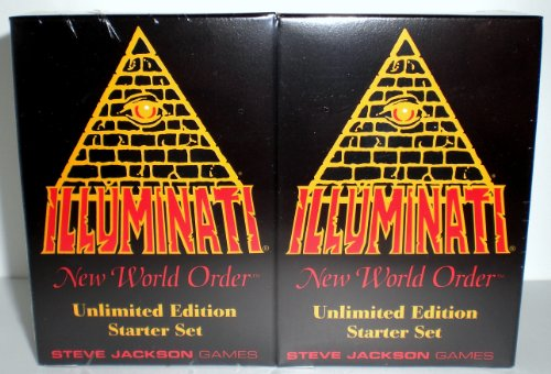 1995 - Illuminati New World Order collectible card game - (INWO Unlimited Edition Starter Set) Factory Sealed (CCG) Two