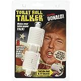ドナルド?トランプ しゃべる 話す トーキング トイレットペーパーホルダー 芯 おもしろ ジョーク ギャグ