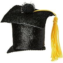 Beistle Graduate Cap Hair Clip, Black