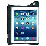 オウルテック IP68取得防水ソフトケース iPad Pro 9.7インチ/Air2他 約10インチタブレットPCまで対応 開けやすいクリップ ネックストラップ付属 ブラック OWL-WPCTA02-BK