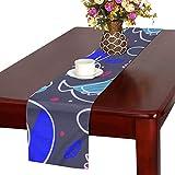 GGSXD テーブルランナー すばしこい にわとり クロス 食卓カバー 麻綿製 欧米 おしゃれ 16 Inch X 72 Inch (40cm X 182cm) キッチン ダイニング ホーム デコレーション モダン リビング 洗える