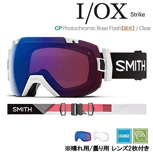 18-19 SMITH (スミス) ゴーグル I/OX EARLY STRIKE アイ/オーエックス アーリーモデル アジアンフィット ジャパンフィット スノーボード スキー