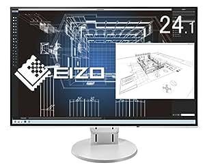 EIZO FlexScan 24.1インチ ディスプレイ モニター (WUXGA/IPSパネル/ノングレア/ホワイト/5年間保証&無輝点保証) EV2456-RWT