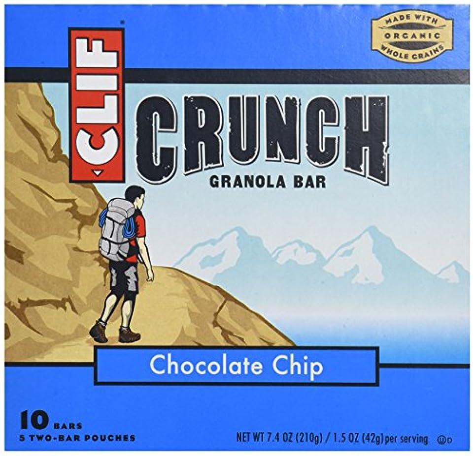 振る舞う辞任する床クリフバー437005クリフクランチチョコチップ-5