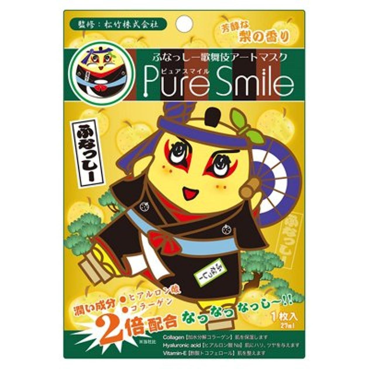 記念日見ましたかび臭いふなっしー 歌舞伎アートマスクシート