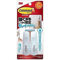 3M コマンド フック 水まわりにも使えるタイプ Mサイズ CMM-WR -