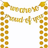 Supla Gold Glittery We are So Proud of You バナー ガーランド