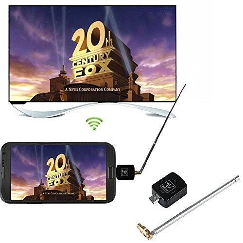 [해외]Hanbaili DVB-T 디지털 모바일 TV 수신기~ 마이크로 USB DVB-T TV 튜너 수신기 (Android 스마트 폰 태블릿 PC HDTV 용)/Hanbaili DVB-T Digital Mobile TV Receiver~ Micro USB DVB-T TV Tuner Receiver (for Android Smartphone Tablet PC HDTV)