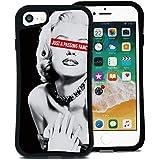 WAYLLY(ウェイリー) iPhone8 ケース iPhone7ケース iPhone6sケース iPhone6ケース くっつくケース 着せ替え 耐衝撃 米軍MIL規格 [ストリート ピンナップ] MK