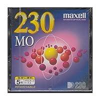 3.5インチ230MB MOメディア5枚パック maxell MA-M230.A5P