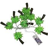 パーティーパーク ヤシの木 トロピカル デコレーション ライト (電池式)LED ガーランド 飾り付け パーティー イルミネーション