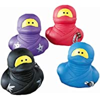 Fun Express Ninja Rubber Ducks - 12 Pieces