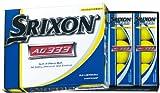 DUNLOP(ダンロップ) ゴルフボール SRIXON スリクソン AD333-6 パッションイエロー 12P