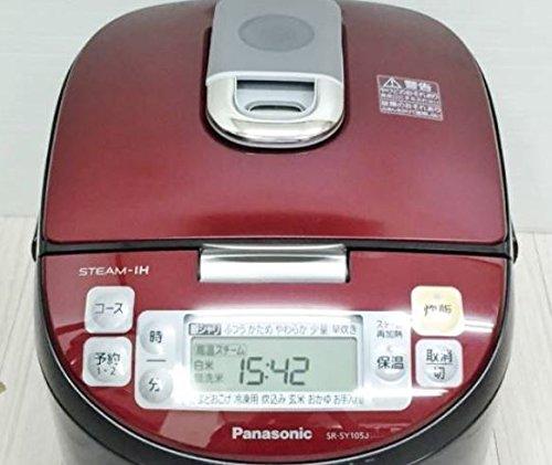 Panasonic スチームIHジャー炊飯器 SR-SY105J-RK