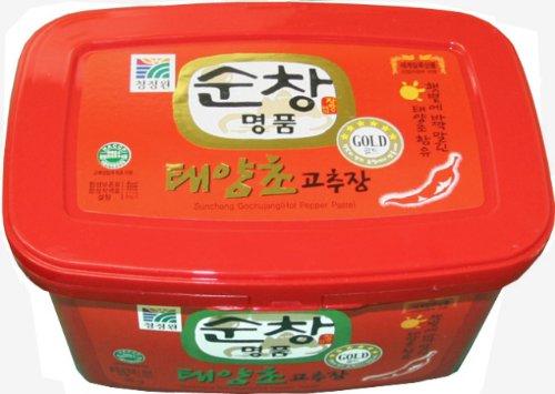 【BOX販売】チョンジョンウォン・スンチャンコチュジャン 3kg X 4個入■韓国食品■韓国調味料■清静園