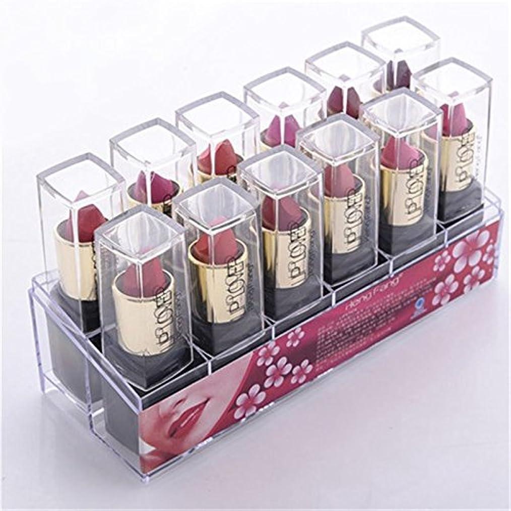 呼吸水星服を洗う2017 New 12pcs/set Lipsticks Sex Nude Lip Matte Kits Long Lasting Waterproof Pigment Matte Makeup Lipstick Set...