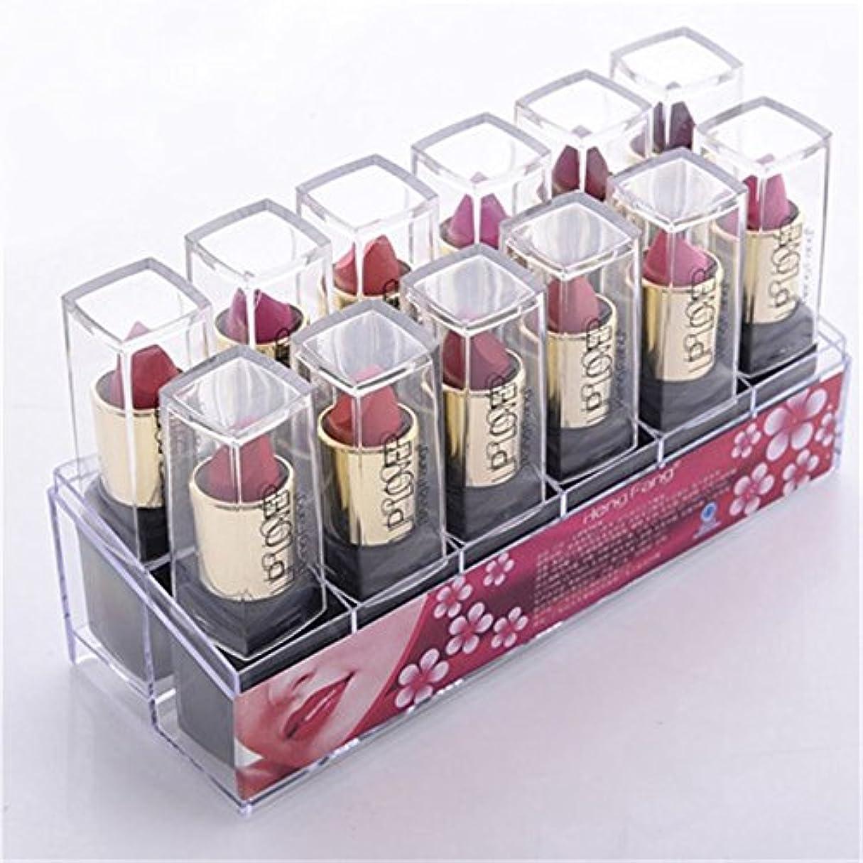 天国ガラス視力2017 New 12pcs/set Lipsticks Sex Nude Lip Matte Kits Long Lasting Waterproof Pigment Matte Makeup Lipstick Set...