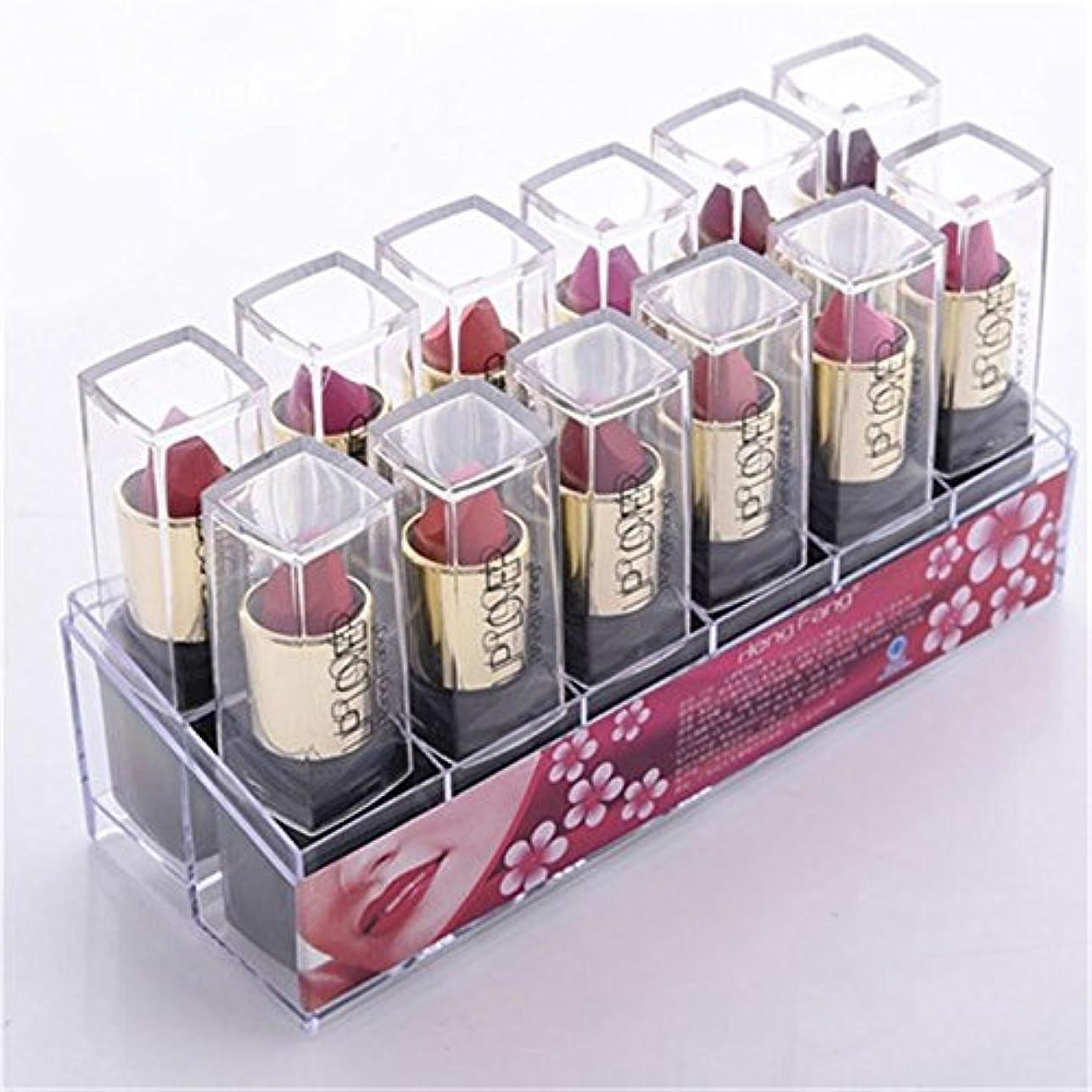 請負業者不満フルーツ2017 New 12pcs/set Lipsticks Sex Nude Lip Matte Kits Long Lasting Waterproof Pigment Matte Makeup Lipstick Set by HengFang