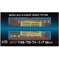 マイクロエース Nゲージ 719系-700・フルーティア 2両セット A8147 鉄道模型 電車
