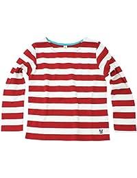 コットン100% イベント用にも大人気 くたびれない素材採用 ボーダー 長袖Tシャツ ストレッチ ウォーリーイベント ハロウィン 赤白 白赤