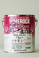 1液ユメロック 024-0234 (ブラック) 3Kg/缶