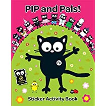 My Cat Pip: Pip and Pals Sticker Activity Book