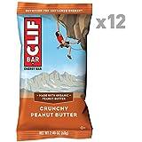 CLIF BAR Crunchy Peanut Butter, 12 x 68g