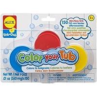 Cuckoo Alex Rub a Dub Color Your Tub Fizzy Tints bath toy