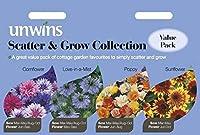 HIGH発芽SEEDSだけでなくPLANTS:Unwins絵パケット - Unwins散布&コレクションを成長させる - 種子