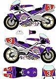 1/12 NSR500 1989年全日本選手権 ロードレース500ccクラス No.3用 デカール