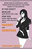 """When people constantly show their affection for you, you start taking it for granted: Anime Lover """"Motivation"""" Notebook, 120 Squared Pages, 6 x 9, Gift, School&Office, Bleach, Orichime Inoue"""