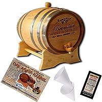 Personalized AmericanオークAgingバレル–デザイン027: Wine & Spirits 5 Liter