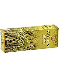 HEM(ヘム) グリーン ティー GREEN TEA スティックタイプ お香 6筒 セット [並行輸入品]