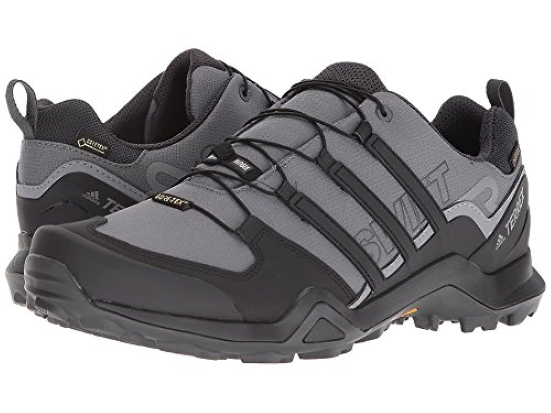 (アディダス) adidas メンズハイキング?アウトドア?トレールランニングシューズ?靴 Terrex Swift R2 GTX Grey Five/Black/Carbon 7.5 (25.5cm) D - Medium