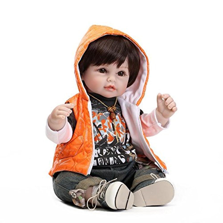 Nicery ラブリーおもちゃ人形高品質ビニール20インチ50cmシミュレーション生きているような女の子のギフト Toy Doll LD50C023