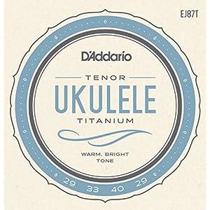D'Addario ダダリオ ウクレレ弦 EJ87T Titanium Tenor テナー 【国内正規品】
