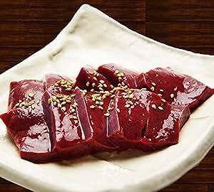 ホルモン屋さんの 牛レバー(100g×3パック) もつ鍋 専門店 博多若杉