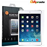 OAproda® iPad pro(9.7-inch)(2016)、iPad air/air2対応強化ガラス 液晶保護フィルム スクリーン (0.3mm,硬度9H ) 簡単取付 飛散防止処理・ 高光沢 ・耐衝撃・防指紋保護シール (9.7インチ)