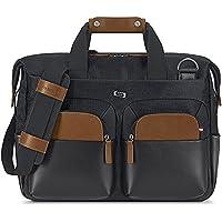 """SOLO Sag Harbor 15.6"""" Laptop Briefcase Blue"""