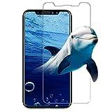 iphone8 ガラスフィルム,I-Enjoy 最新版 日本製素材 iphone X Edition フィルム 99%高透過率 極薄 0.15mm 2.5D