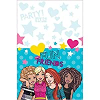 Amscan Table Cover%カンマ% Barbie & Friends Collection%カンマ% Party Accessory%カンマ% Multicolor [並行輸入品]