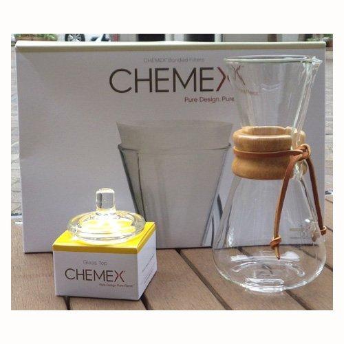 CHEMEX<ケメックス>コーヒーメーカー スターターセット 3カップ用