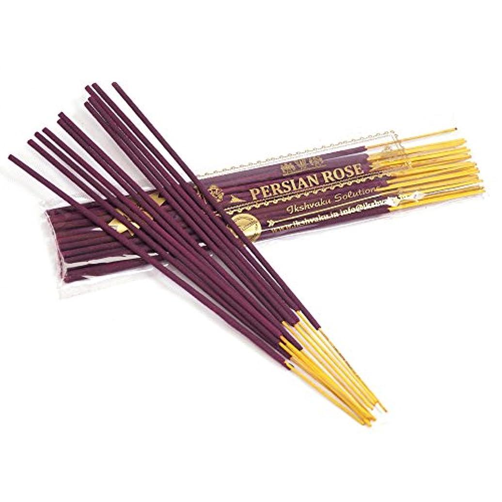 ごちそうポジティブ区別Persian Rose Incense Sticks 50