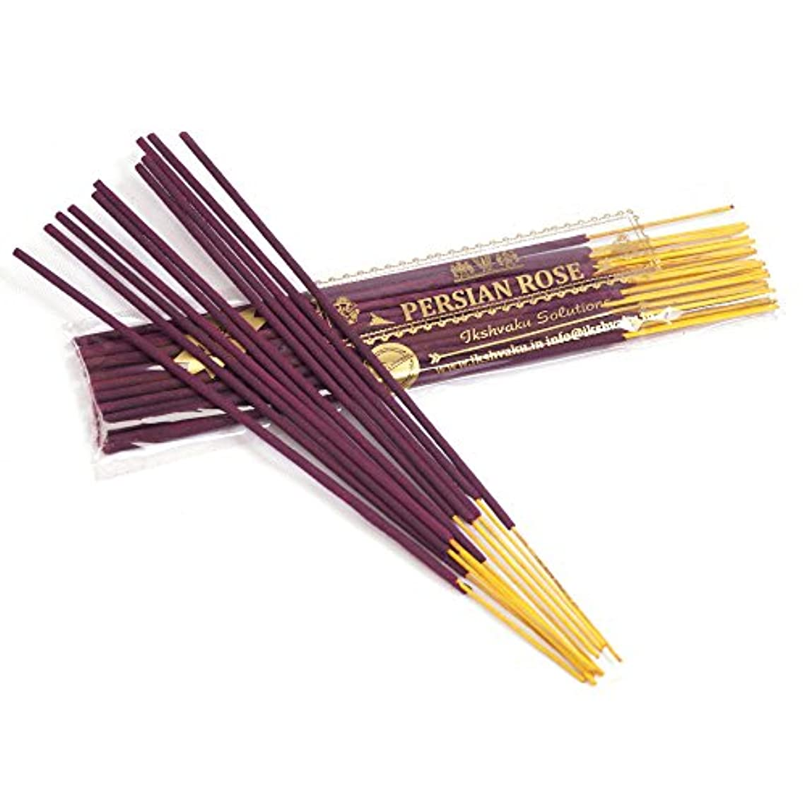 コミュニケーション医師ハンディキャップPersian Rose Incense Sticks 50